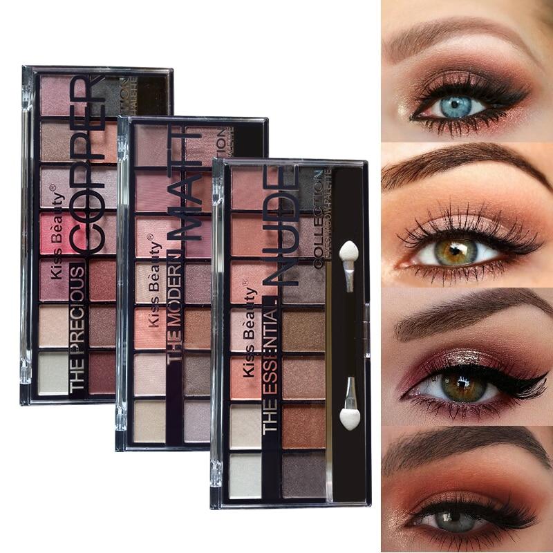 Professional 14 Color Eye shadow Palette Earth Warm Shimmer Matte Beauty Makeup Set Smoky Eye-shadow Makeup лонгслив printio звёздные войны эпизод vii
