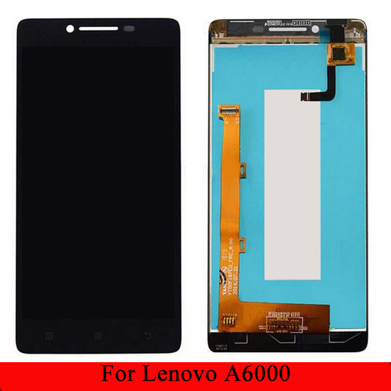 5.0 Inch LCD For Lenovo A6000 Display Touch Screen Digitizer For Lenovo A6000 Display K3 K30-T Assembly Screen