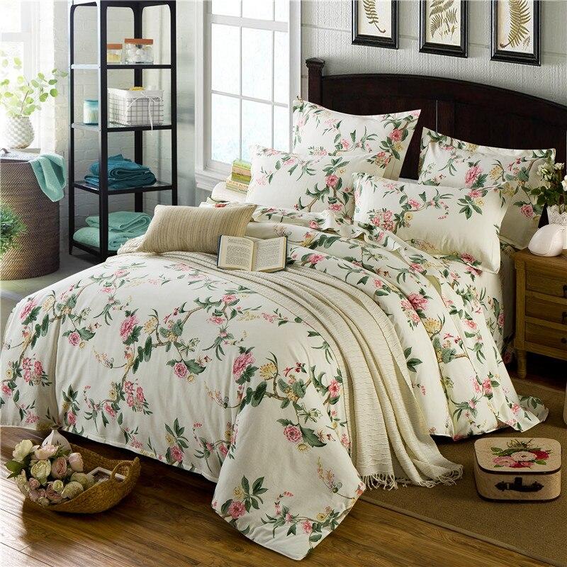 2set lot4pcs 100 Cotton Imitated Luxury Bedding Set Color Pinch Pleat Bed  Set King  Popular. Ikea Twin Bedding
