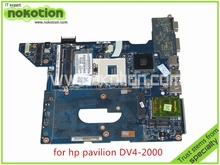 SPS 590350 001 NAL70 LA 4106P For HP pavilion DV4 DV4 2000 Laptop font b motherboard