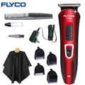 FLYCO Профессиональный Машинка Для Стрижки Волос Триммер Бритва Бытовой электрический машинки для стрижки волос взрослых бритва Стрижка Инструменты Для Укладки FC5807