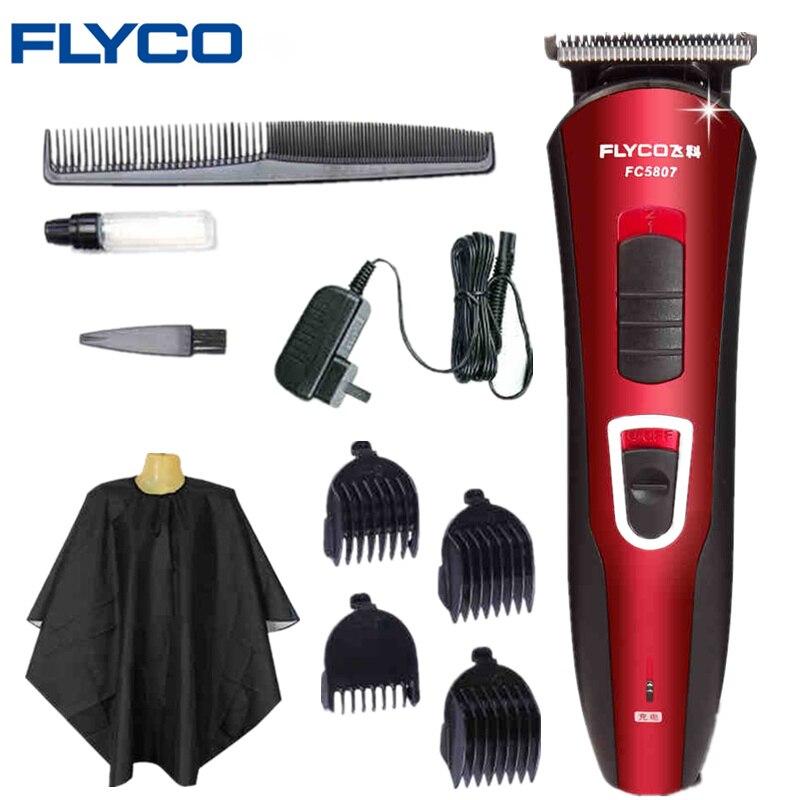 FLYCO Tondeuse À Cheveux Professionnelle Tondeuse Rasoir Ménage cheveux électrique tondeuse adulte rasoir Coupe de Cheveux Styling Outils FC5807