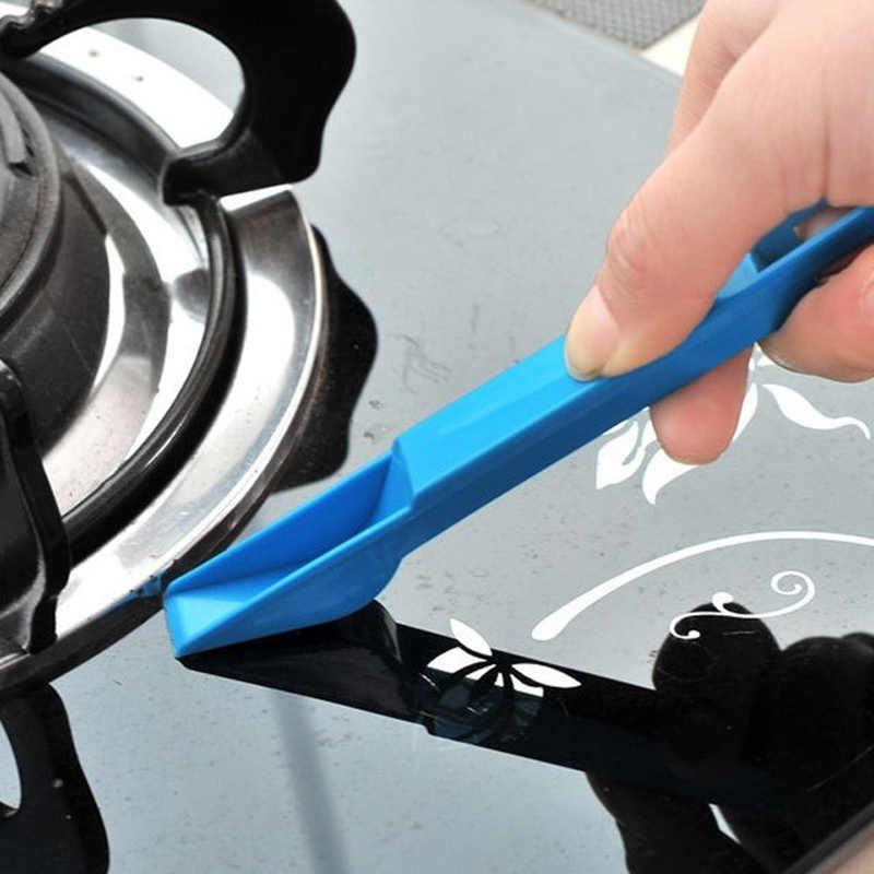 도착 다목적 창문 키보드 청소 브러시 클리너 + 더스트 팬 2 1 도구 블랙 블루 컬러 창 브러시