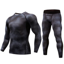 New Mens thermal underwear set winter warm and dry technology surface stretch Force Long Johns Suit Compression lucky