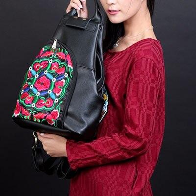 XIYUAN BRAND mochilas mujer 2017 back pack sac a dos femme Korean Style Genuine Leather Women Backpack Vintage School Backpack