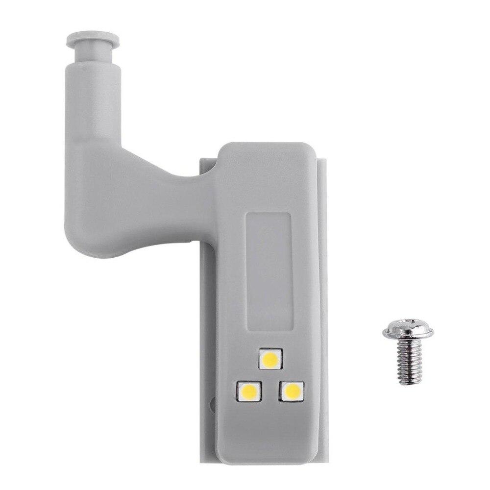 LED Cabinet Hydraulic Hinge Light Kitchen Closet Living Room Cabinet Closet Universal Internal Motion Sensor Light