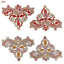 KLV 1 Pair Rhinestone Shoe Charms Shoe accessories