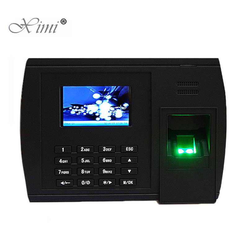 ZK Webserver TCP/IP ADMS Fingerprint Recognition Time Attendance Clock Recorder With Free Software And SDK Biometric Time Clock