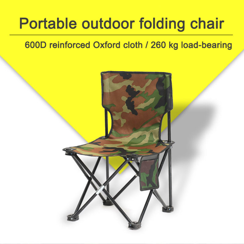 Ultralight Folding Chair Travel Outdoor Camping Chair Portable Beach Hiking Picnic Seat Fishing Tool Chair Outdoor Chair