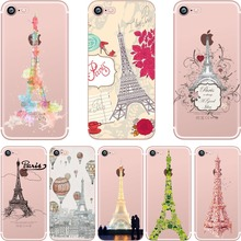 Silicone Phone Cases with Eiffel Towerfor Apple iPhone 5S, SE, 6, 6S, 6 Plus, 7, 7 Plus