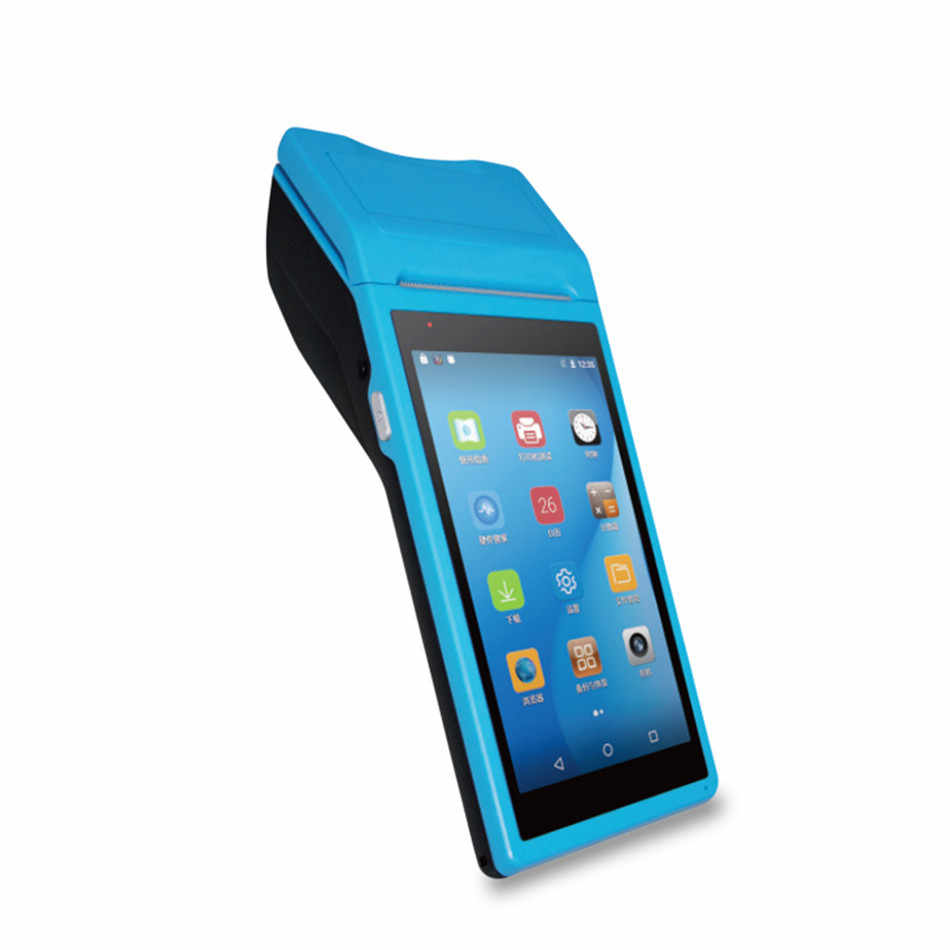 Mobile android pos terminal printer terminal pos offline with 4G WIFI  Bluetooth