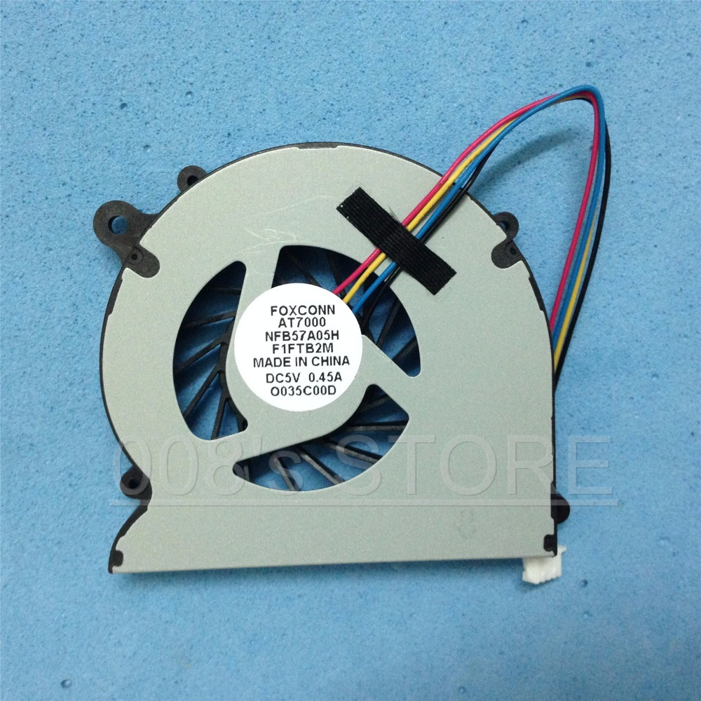 New Laptop Cpu Cooler Fan For Foxconn At 7000 Nfb57a05h F1ftb2m Dc 12v Wire Diagram 5v 045a Netbox At7000 Nano Pc 7300 Novus 2 In Cooling Pads From Computer