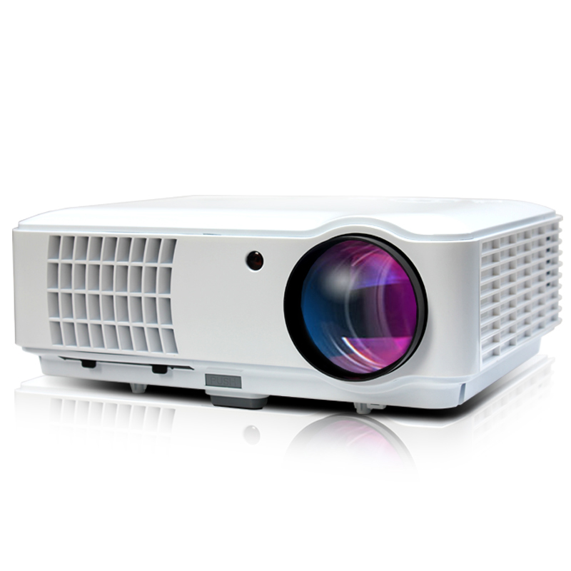 Newest led 5500 lumen projector 1280X800 Multimedia Video 3d full hd TV 1080P proyector Hdmi beamer home theater HDMI/USB/AV/VGA