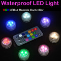 20 Pieces/Lot Waterproof LED Candle Wedding Decoration Submersible Floralyte LED Tea Lights Party Decoration LED Floral Light