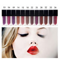 12 Colors sexy Beauty Matte Liquid lipstick Lip Gloss Make up Waterproof Long Lasting Trophy Wife Bombshell Icon Vixen Medusa