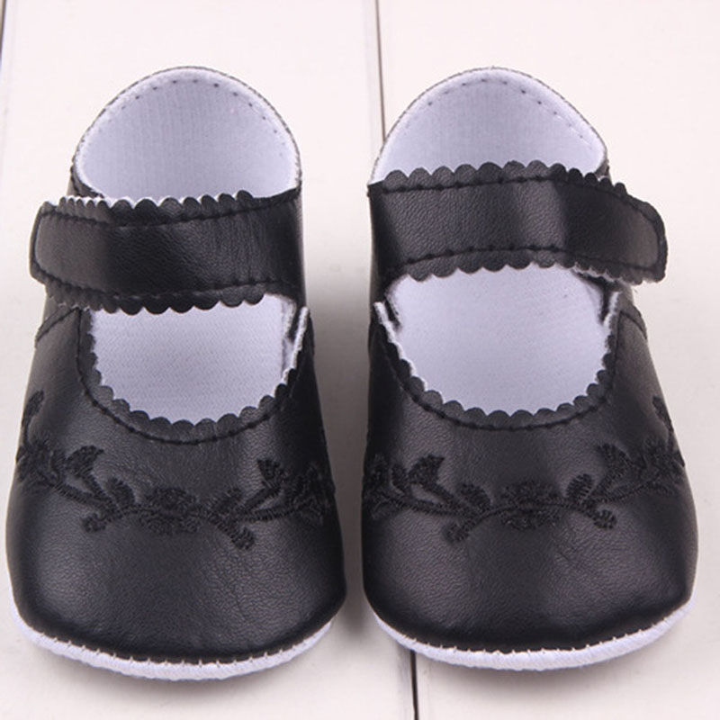 Newborn Baby Girl Shoes Prewalker First Walkers Lovely Sneakers Infant Kids Girls Princess Shoes