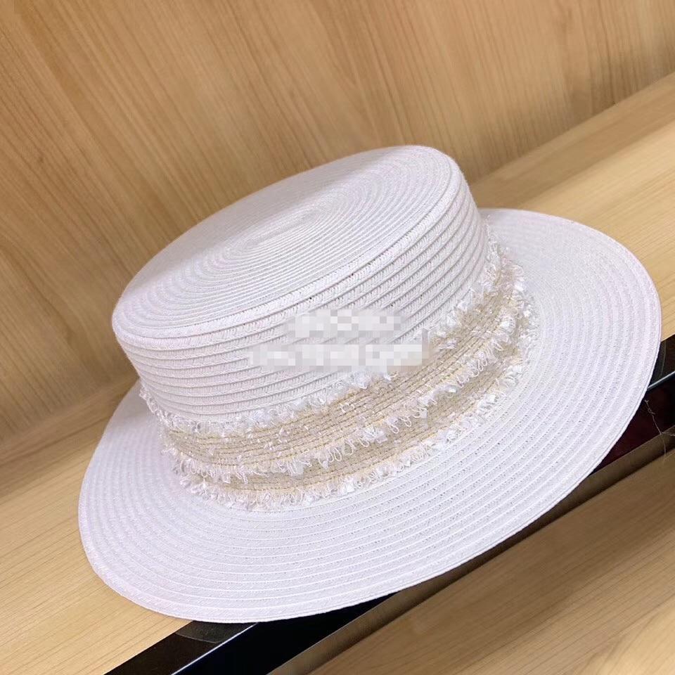 Chapeau Fedora papier blanc 5