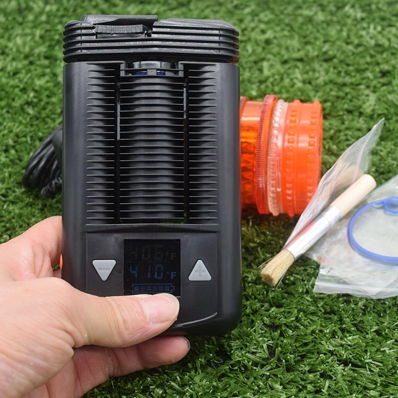2 pièces meilleur vaporisateur Portable herbe sèche lisse cool vapo herbe sèche Mod avec température réglable boîte de contrôle Mod Vape