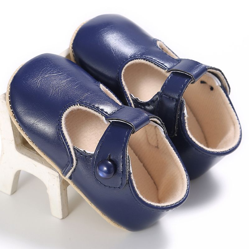 5 Colors Baby Shoes Newborn Girl PU Leather First Walkers Kids Moccasins 0-18 Months