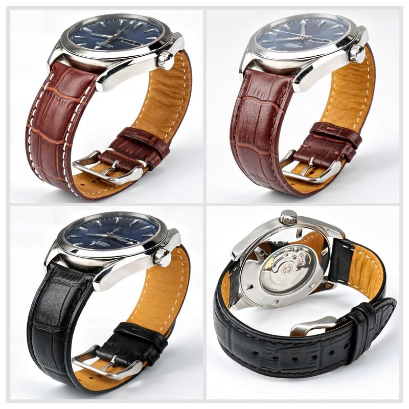 MAIKES Klocka-tillbehör Nyhet Armbandsur av äkta läder 22mm 20mm - Tillbehör klockor - Foto 6