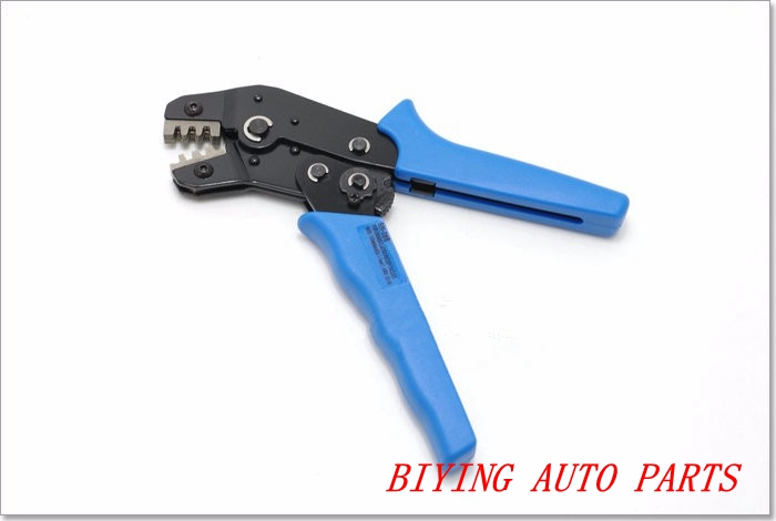 CAR pliers UPGRADING FOR uninsu lated pecep tacles and wide terminais (0.14-1.5mm) AWG 26-16