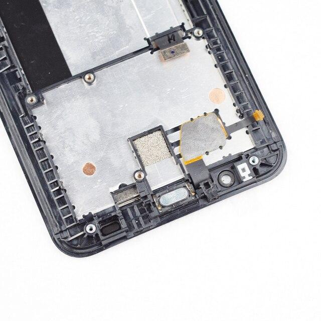Ecran LCD Original 5.5 'pouces pour ASUS Zenfone 2 ZE551ML Z00AD Z00ADB Z00ADA ecran tactile avec cadre