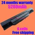 Bateria do portátil para asus a32-k53 a42-k53 a43 jigu a43ta k43t x43b X43BY A53B A53 A53S K53 X43E A53E K53BY K53E X43SA A53SC K53S