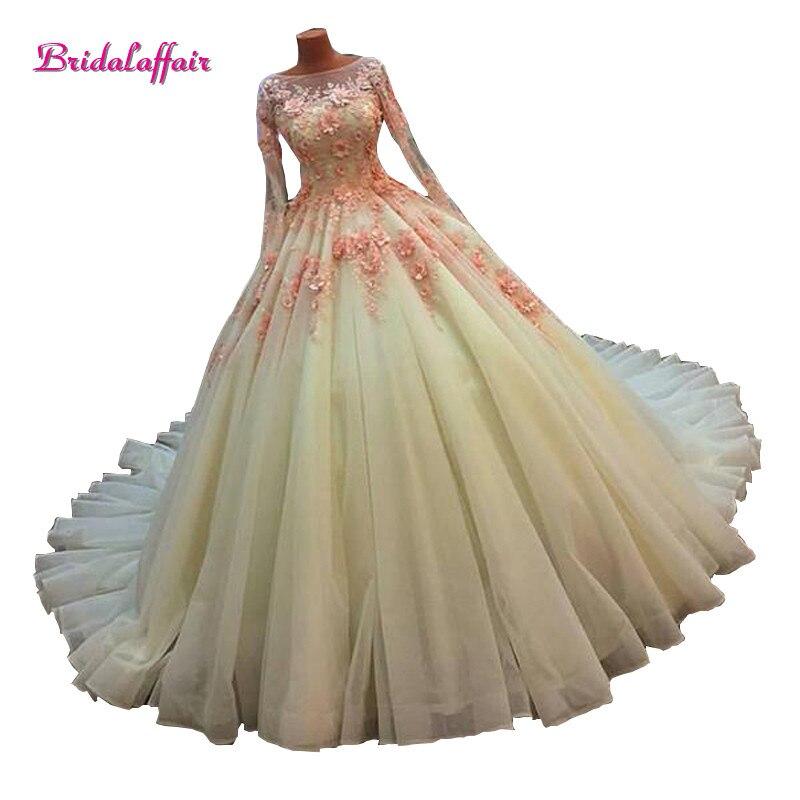 Wedding Dress Luxury Lace Pearl Beading bridal vestido de noiva robe mariage curto 2018 Customize