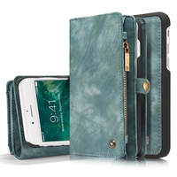 Brand Leather Flip Book Case For Iphone 7 Plus Wallet Leather Case Coque For IPhone 7