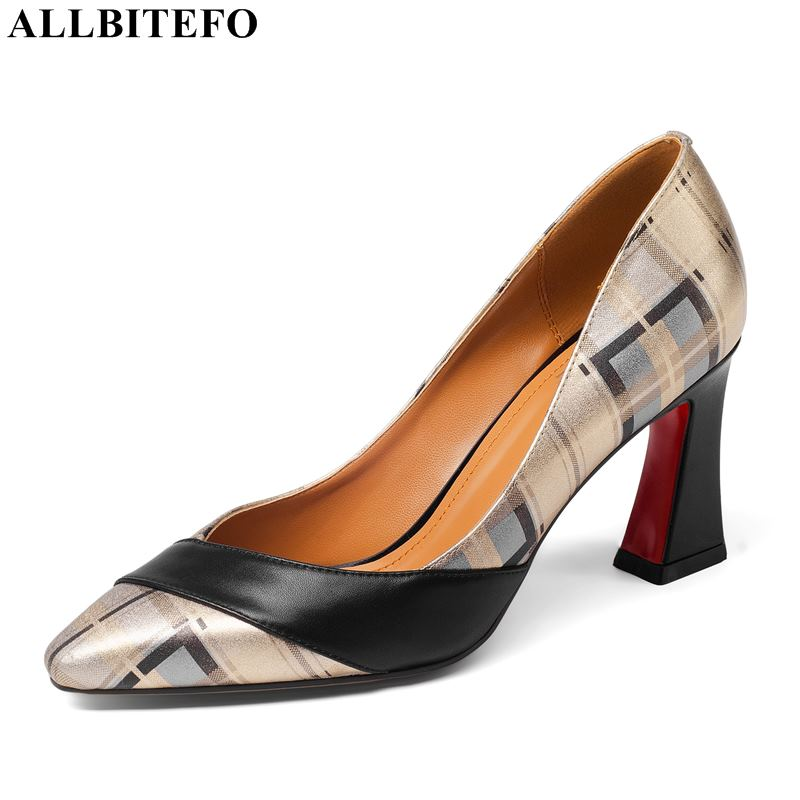 ALLBITEFO brand high heels party women shoes high quality women high heel shoes office ladies shoes women heels size:33-43ALLBITEFO brand high heels party women shoes high quality women high heel shoes office ladies shoes women heels size:33-43