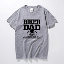 adf8a2aac Father's Day Biker Dad Funny Motorcycle T Shirt T-Shirt Fathers Day Birthday  Gift Present For Men Husband Dad Grandad Tshirt