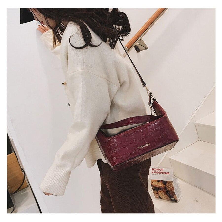 Yellow Waist Fanny Belt Bag Pu Leather Chest Handbag Casual Crossbody Bag