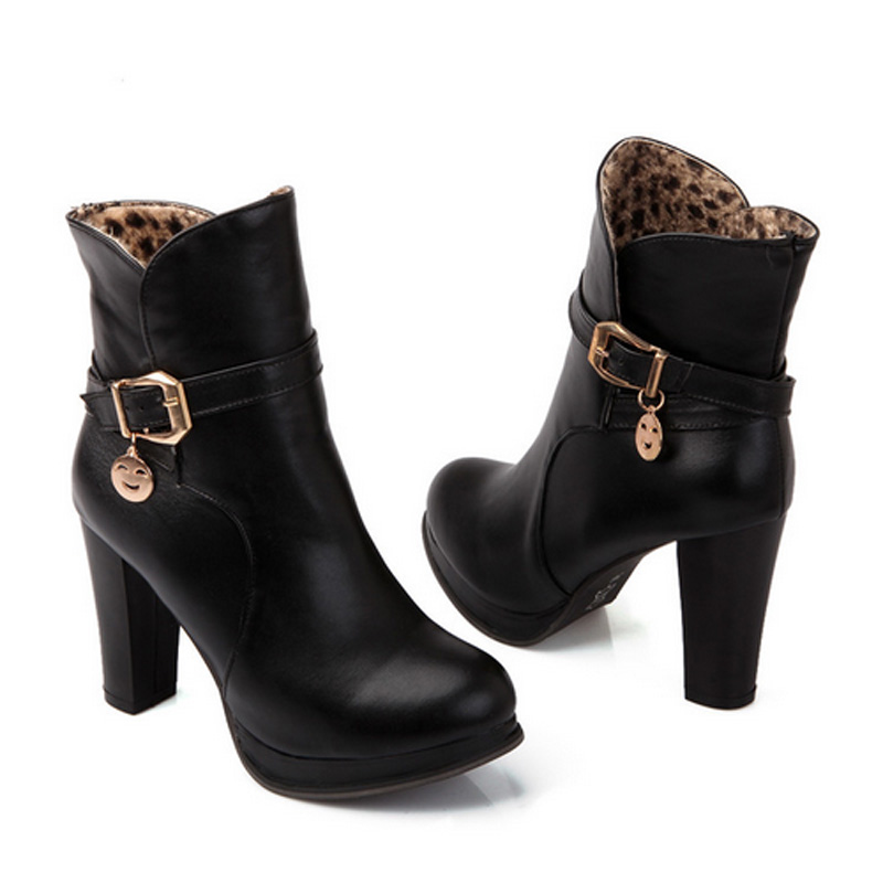 Short Brown Leather Boots Promotion-Shop for Promotional Short ...