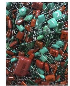 500g mixed polyester capacitor mixed cbb capacitor mixed electronic components фото