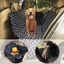 Pet Carriers Oxford Fabric Paw pattern Car Pet Seat Cover Dog Car Back Seat Carrier Waterproof Pet Mat Hammock Cushion Protector pet carriers fabric paw pattern car pet seat cover dog car back seat carrier waterproof pet mat hammock cushion protector