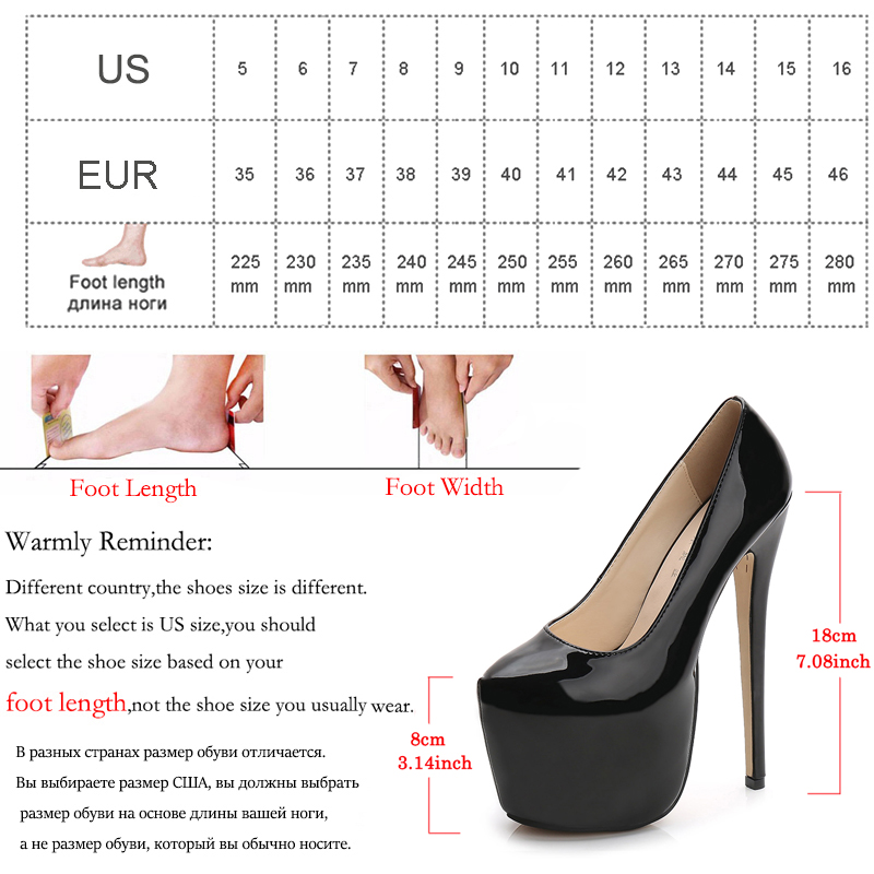 Image 5 - MAIERNISI Women Shoes Spring/Autumn Sexy Wedding Round Toe Woman Pumps Platform Very High Heel Pumps Candy Color Stilettos-in Women's Pumps from Shoes