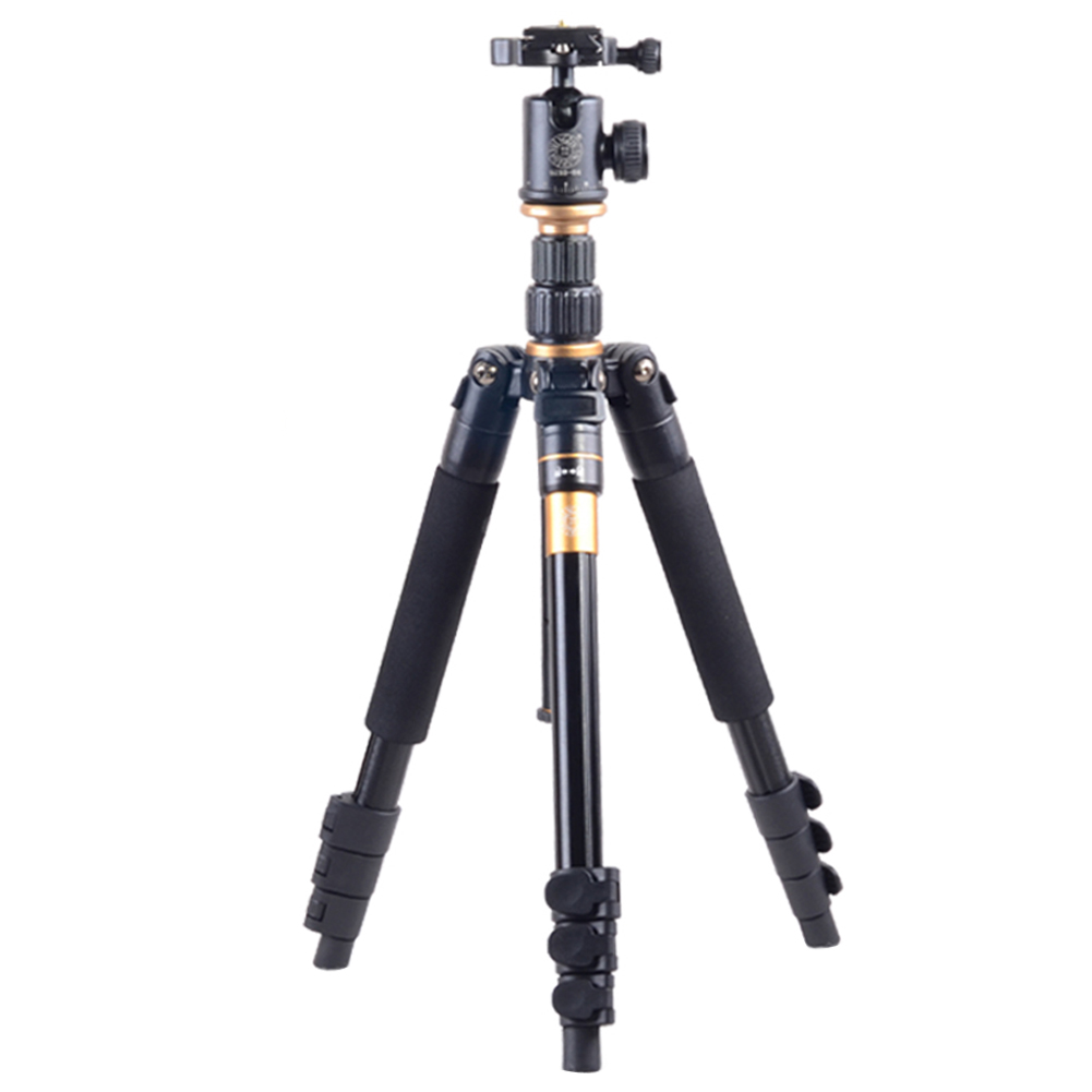Professional Tripod Monopods Ball Head Aluminum alloy 180 degree Folding Monopod Function Travel Outdoor Tripod for DSLR Camera aluminium alloy professional camera tripod flexible dslr video monopod for photography with head suitable for 65mm bowl size