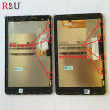 Pantalla lcd con pantalla táctil digitalizador asamblea con marco para ASUS Google Nexus 7 1st GEN 2012 ME370T ME370 ME370TG