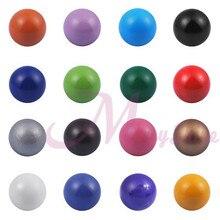 1 UNID Multicolor Jingle Bell 18mm Timbre Suave Bebé Bola Para campana Jaula Colgante de Joyería de Moda Ángel de la Bola Regalo de la Mamá Embarazada Bola
