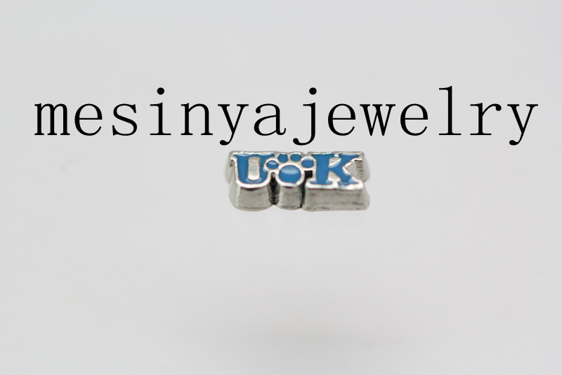 10pcs UK floating charms for glass locket Min amount $15 per order mixed items,FC-250