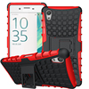 Armor Case Hybrid Kickstand Stand Cover For Sony Xperia X XA Z2 Z3 Z4 Z5 Compact Premium M5 M4 E4 E4G Hard PC+TPU Back Case