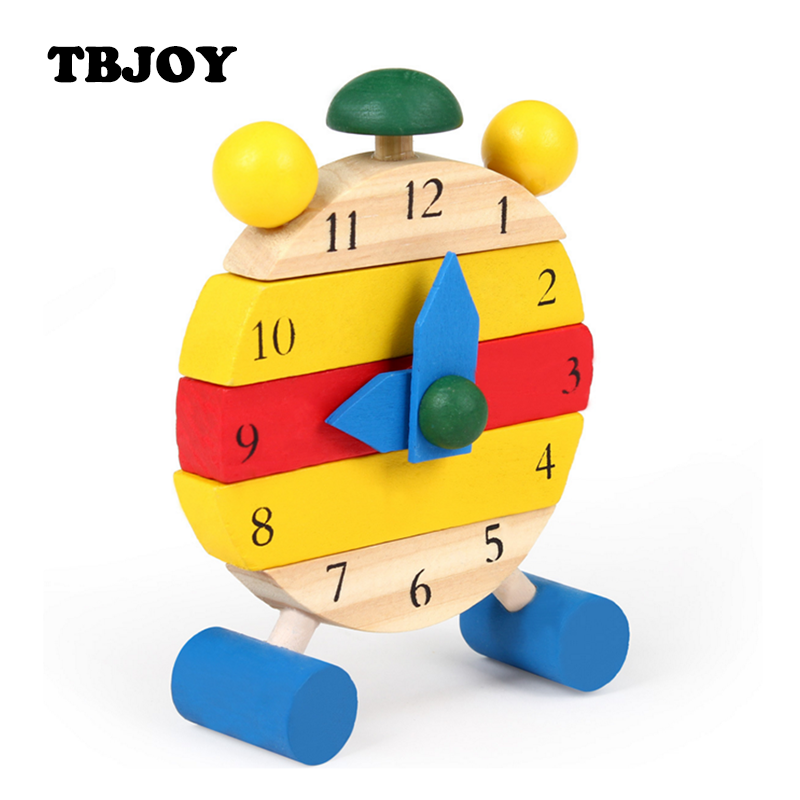 Cognitive Learning Toys : Set baby wooden educational color digital cognitive