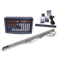1 компл.. токарный станок/фрезерный/дрель/EDM/ЧПУ 2 оси устройство цифровой индикации и масштабная линейка/линейный датчик