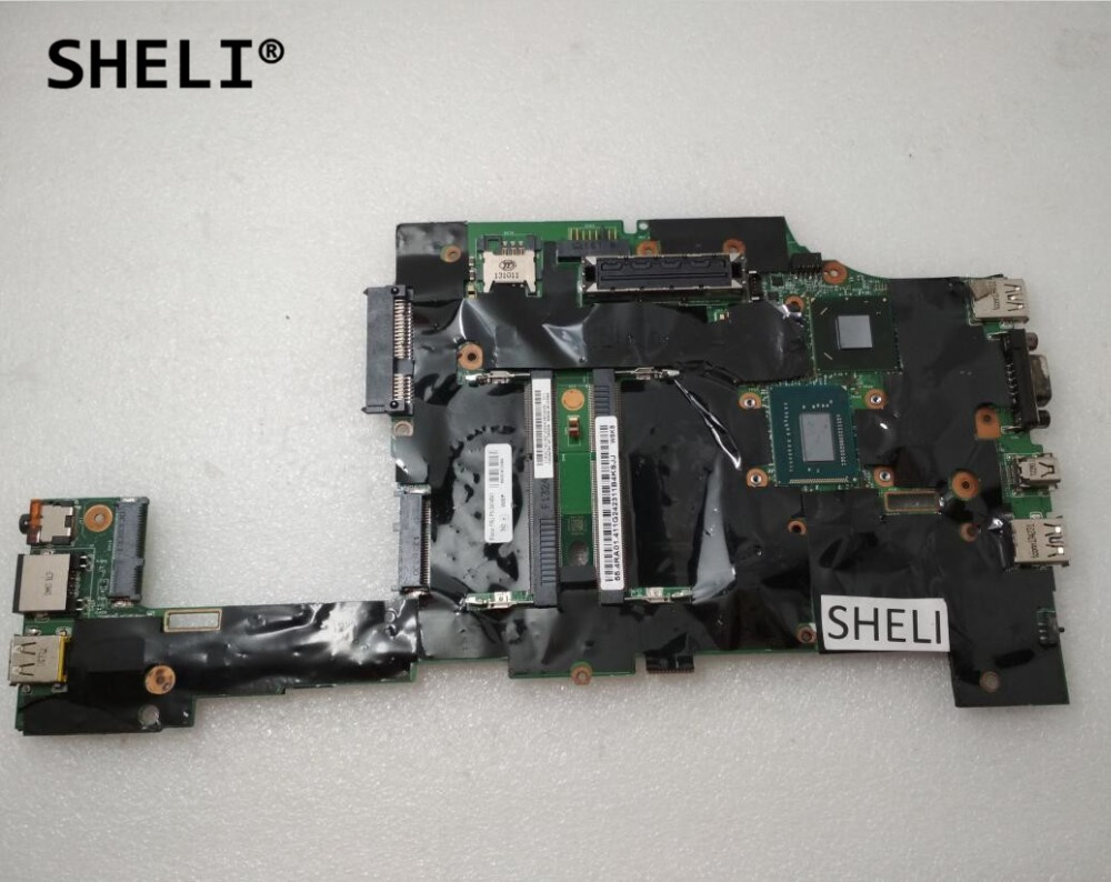 SHELI For Lenovo X230I X230 Motherboard with <font><b>I5</b></font>-<font><b>3320M</b></font> FRU: 04X4541 image