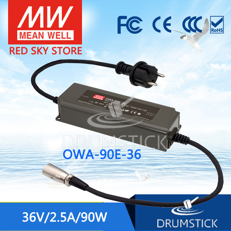 MEAN WELL OWA-90E-36 36V 2.5A meanwell OWA-90E 36V 90W Single Output Moistureproof Adaptor Euro Type [sumger1] mean well original owa 90e 12 12v 7 5a meanwell owa 90e 12v 90w single output moistureproof adaptor