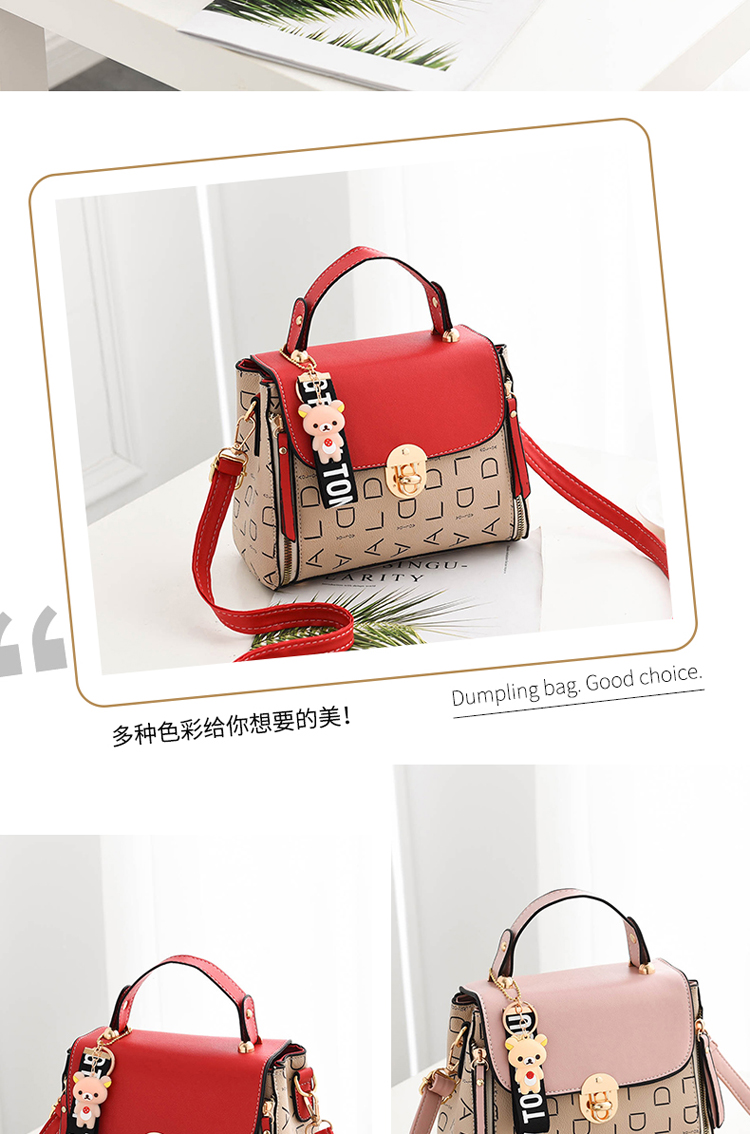 Popular Woman Handbags Fashion Leather Messenger Bag Trendy new one-shoulder diagonal small square bag Bolsa Feminina louis gg 55
