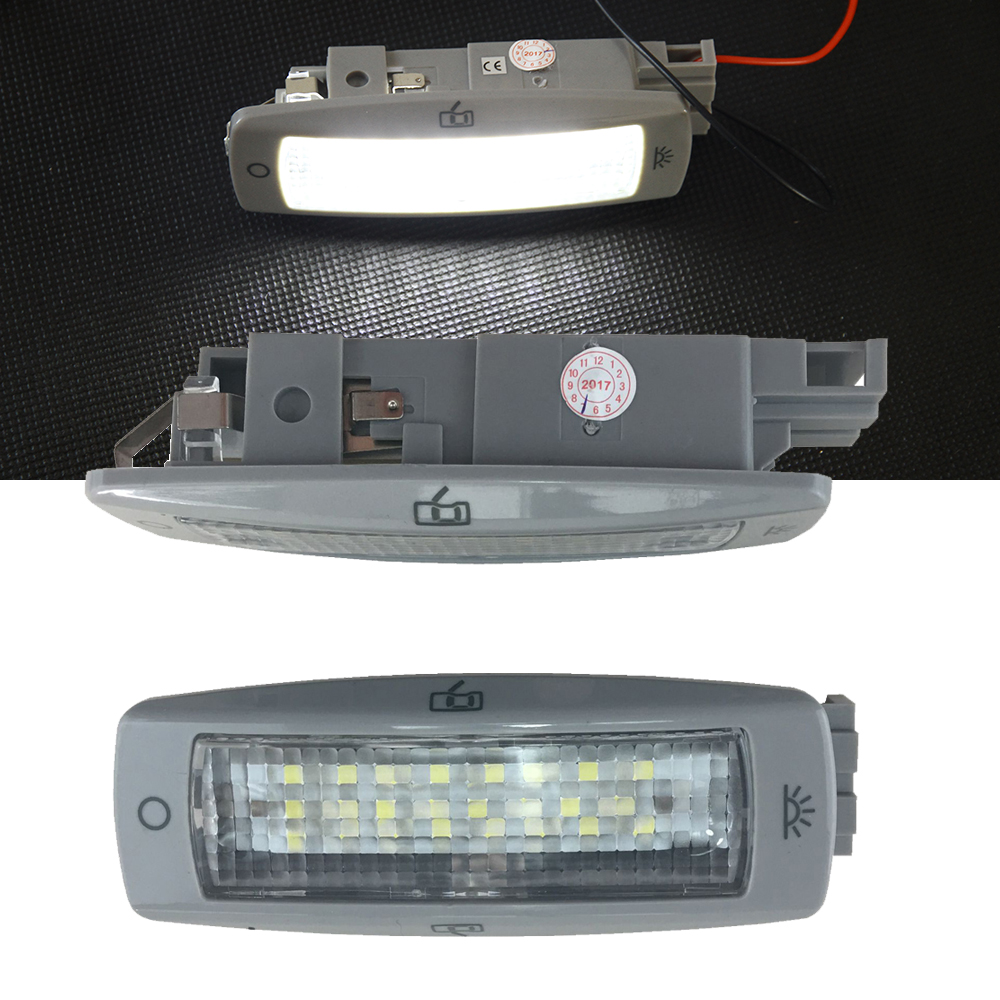 Direct Fit for Skoda Superb (02-13) Bright 6000K Xenon White LED Replacement Interior Roof Dome Light