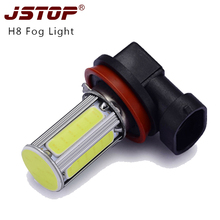 Ha condotto la lampada auto lampadine 6000 k bianco H8 led fendinebbia 6COB 550lm canbus lampada H8 Auto Luce 12VAC luce led fendinebbia Luci Esterne