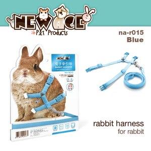 Синий 120 см нейлоновые ремни с кроликом ремни подтяжки тяговые регулируемые веревки хорька Тоторо моющиеся ленты товары для домашних живот...