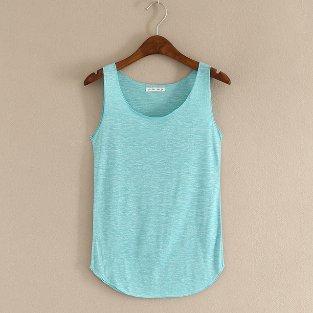HOT summer Fitness Tank Top New T Shirt Plus Size Loose Model Women T-shirt Cotton O-neck Slim Tops Fashion Woman Clothes 3